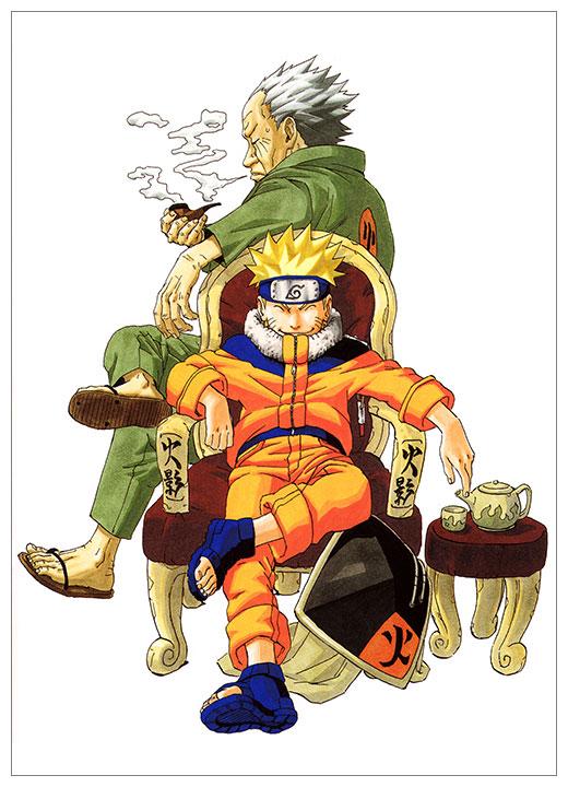 Панорамный постер Naruto / Наруто / -ナルト-